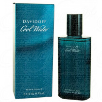 DAVIDOFF COOL WATER UOMO AFTER SHAVE LOTION 75ML