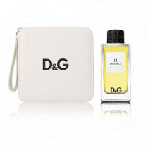 DOLCE & GABBANA 11 LA FORCE 100ML SPRAY EAU DE TOILETTE + TRAVEL CASE