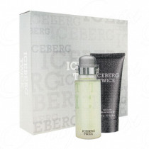ICEBERG TWICE UOMO 125ML SPRAY EAU DE TOILETTE + GEL DOCCIA 100 ML