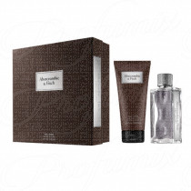 ABERCROMBIE & FITCH GIFT SET FIRST INSTINCT POUR HOMME 100ML SPRAY EAU DE TOILETTE + 200ML BODY WASH