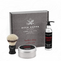 ACCA KAPPA SET REGALO BARBER SHOP COLLECTION EMULSIONE DOPO RASATURA 125ML + SAPONE DA BARBA 250ML + PENNELLO DA BARBA