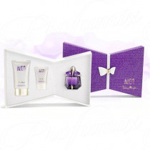 THIERRY MUGLER ALIEN 30ML SPRAY EAU DE PARFUM RICARICABILE + LATTE CORPO RADIOSO 100ML + GEL DOCCIA RADIOSO 30ML