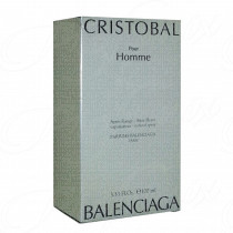 BALENCIAGA CRISTOBAL POUR HOMME  AFTER SHAVE SPRAY 100ML VINTAGE LOTTO 1D10JBI