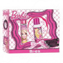 BARBIE 50ML SPRAY EAU DE PARFUM + 100ML DEODORANTE SPRAY + CERCHIETTO PER CAPELLI
