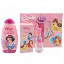 DISNEY PRINCESS EAU DE TOILETTE GIFT SET 50ML SPRAY EAU DE TOILETTE + 300ML SHAMPOO DOCCIA GEL