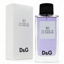 DOLCE & GABBANA D&G ANTHOLOGY 10 LA ROUE DE LA FORTUNE 100ML SPRAY EAU DE TOILETTE POUR FEMME