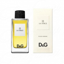 DOLCE & GABBANA D&G ANTHOLOGY 11 LA FORCE POUR HOMME 100ML SPRAY EAU DE TOILETTE