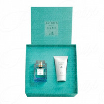 ACQUA DELL'ELBA BLU DONNA GIFT SET EAU DE TOILETTE SPRAY 50ML+CREMA IDRATANTE 50ML