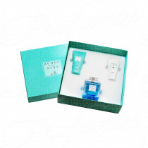 ACQUA DELL'ELBA BLU DONNA GIFT SET EAU DE PARFUM SPRAY 100ML+GEL DOCCIA 50ML+CREMA IDRATANTE 50ML