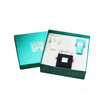 ACQUA DELL'ELBA BLU UOMO GIFT SET 100ML SPRAY EAU DE TOILETTE + 50ML GEL DOCCIA + 50ML CREMA IDRATANTE