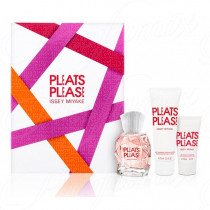 ISSEY MIYAKE PLEATS PLEASE 50ML SPRAY EAU DE TOILETTE + LATTE IDRATANTE PER IL CORPO 75ML + GEL DOCCIA IDRATANTE