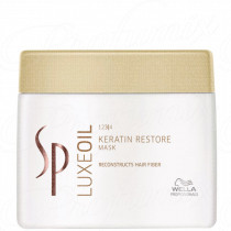 WELLA PROFESSIONALS SP LUXE OIL MASK KERATIN RESTORE 400ML