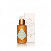 BJORK & BERRIES NEVER SPRING BODY OIL WITH SHIMMER 100ML