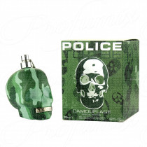 POLICE TO BE CAMOUFLAGE SPECIAL EDITION FOR MAN 125ML SPRAY EAU DE TOILETTE